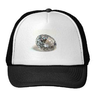 Diamante branco bonés