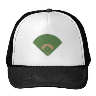 Diamante de basebol: boné