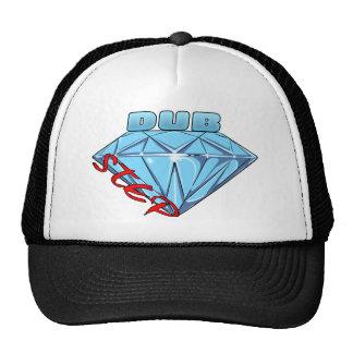 Diamante de Dubstep Boné