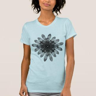 Diamante de sobreposição das libélulas t-shirt