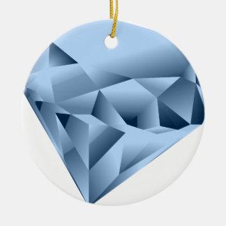 Diamante Ornamento De Cerâmica