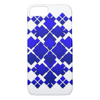 Diamante quadrado azul de Citycape Capa iPhone 7
