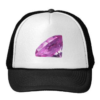 Diamante roxo boné