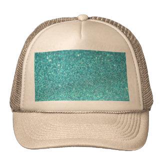 Diamantes brilhantes do brilho colorido boné