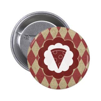 diamantes da pizza bóton redondo 5.08cm