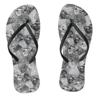 Diamantes de Digitas - chinelos