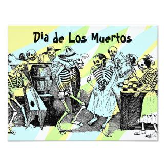 Diâmetro de Los Muertos Dia dos convites