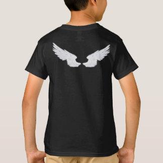 Dianteiro do anjo de Falln Castiel e traseiro Camiseta
