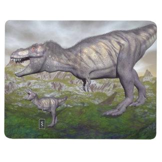 Diário A mãe do dinossauro do rex do tiranossauro e o