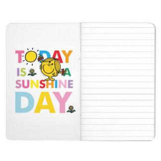 Diário A senhorita pequena Luz do sol | é hoje um dia da