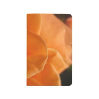 Diário Abstrato do rosa da laranja