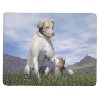 Diário Amizade do cão e gato