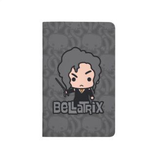 Diário Arte do personagem de desenho animado de Bellatrix