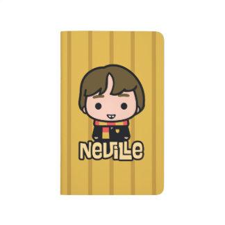 Diário Arte do personagem de desenho animado de Neville