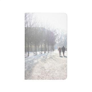 Diário Árvore do inverno em Praga (república checa)