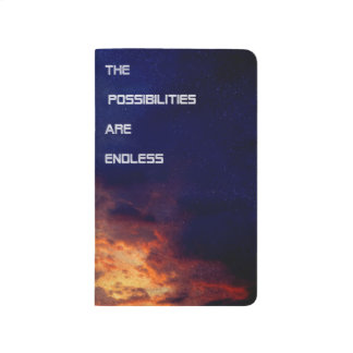 Diário As possibilidades são caderno infinito