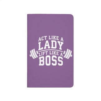 Diário Ato como uma senhora, elevador como um chefe, a