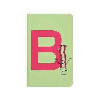 Diário B é para a letra de salto feliz do ABC da tira do