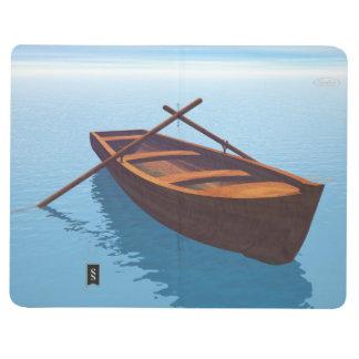 Diário Barco de madeira - 3D rendem