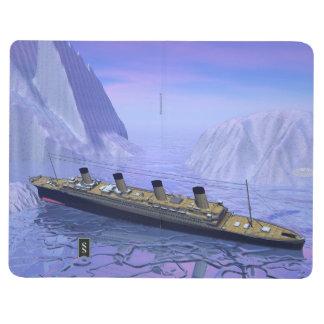 Diário Barco titânico que afunda-se - 3D rendem