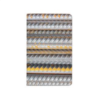 Diário Bares de teste padrão de aço oxidados