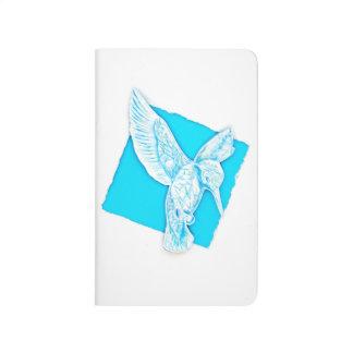 Diário Bird on notebook