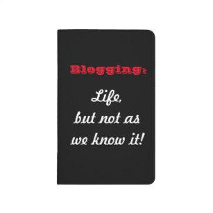 Diário Blogging:  Vida, mas não como nós o sabemos!