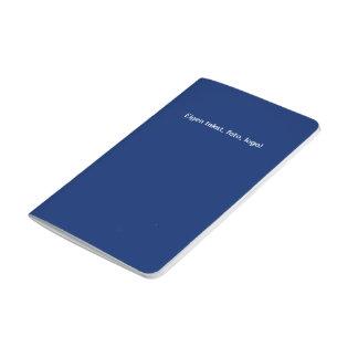 Diário Bolso Schrift uni Blauw - Geel