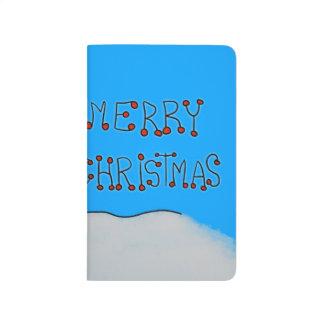 Diário Boneco de neve do Feliz Natal
