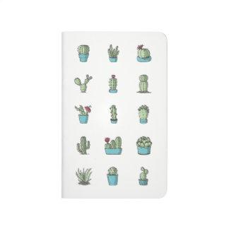 Diário Cactos e jornal do bolso dos Succulents