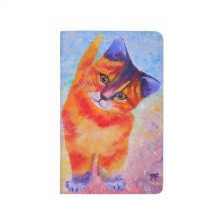 Diário Caderno bonito dos gatos