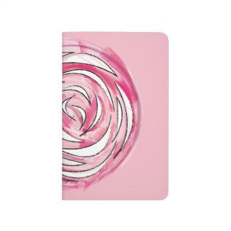 Diário Caderno cor-de-rosa