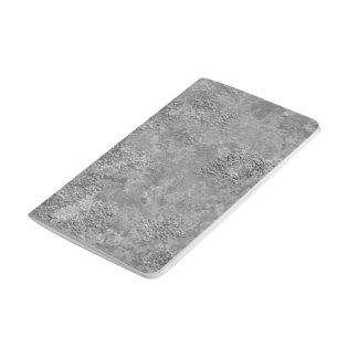Diário Caderno cru cinzento da Zombaria-Textura do
