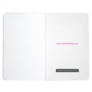 Diário Caderno customisable do Aqua tropical dos doces