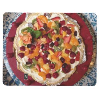 Diário Caderno da pizza da fruta