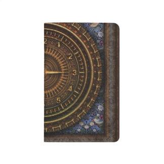 Diário Caderno de bolso dos escritores de Steampunk