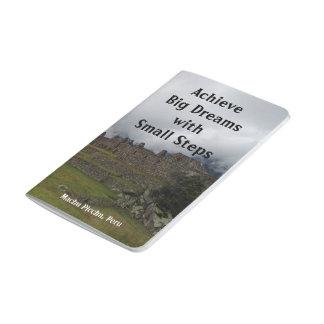 Diário Caderno de bolso grande dos sonhos