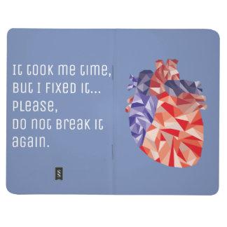 Diário Caderno do coração