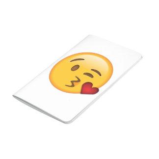 Diário Caderno do jornal de Emoji