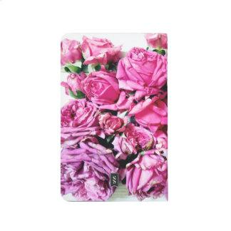 Diário Caderno floral lindo