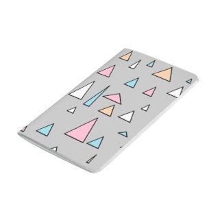 Diário Caderno Funky das cores Pastel dos triângulos