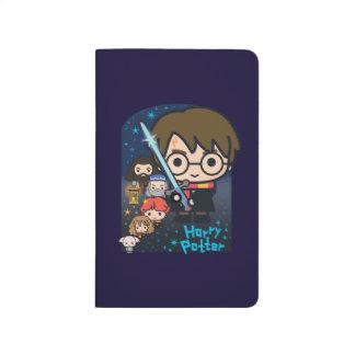 Diário Câmara de Harry Potter dos desenhos animados dos