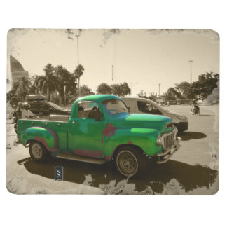 Diário Carro verde velho