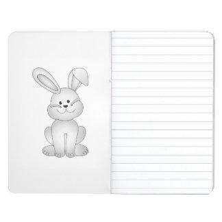 Diário Clipart branco do coelho