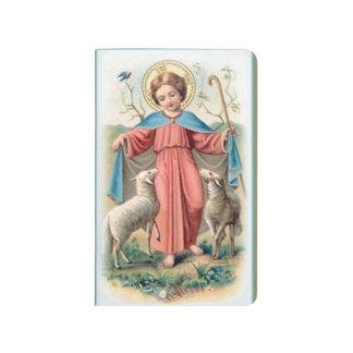 Diário Criança Jesus com cordeiros
