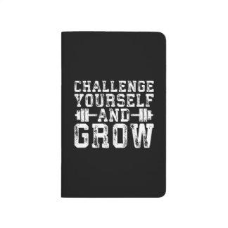 Diário Desafie-se e cresça-se - inspirado
