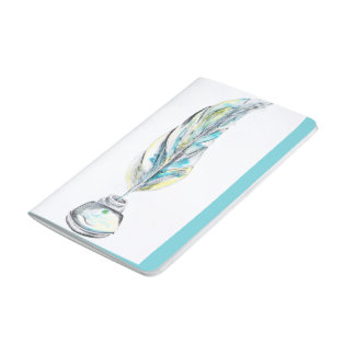 Diário Desenhos de pluma caderneta