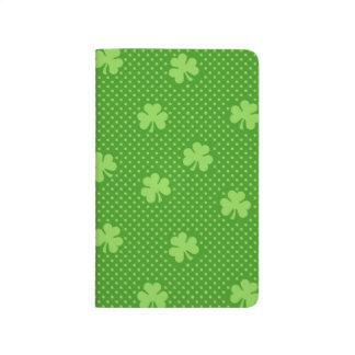 Diário Dia verde de Patricks do santo do teste padrão do