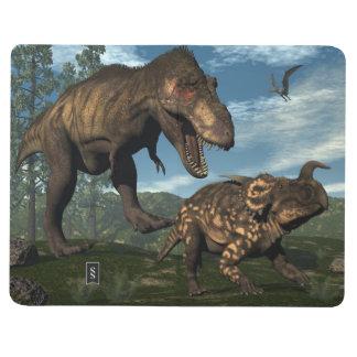 Diário Dinossauro de ataque do einiosaurus do rex do