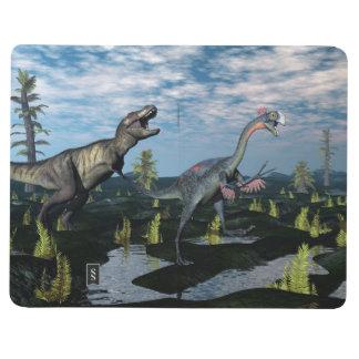 Diário Dinossauro de ataque do gigantoraptor do rex do